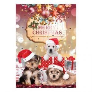 Adventskalender Choklad Hund 75g