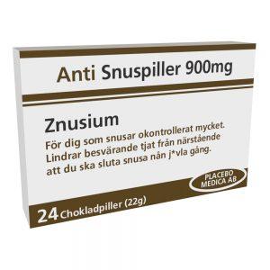 Anti Snuspiller Choklad