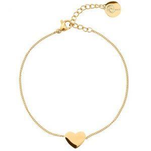 Armband Pure Heart, hjärta - Edblad, Guld