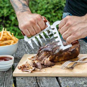 BBQ Meat Claws - Köttklor, Rostfritt Stål
