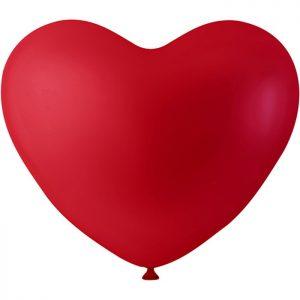 Ballonger Hjärtan 8 st (Röd)