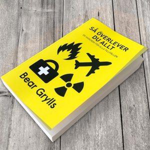 Bok - Så överlever du allt, Bear Grylls, Gul