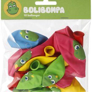 Bolibompa Ballonger 10-pack