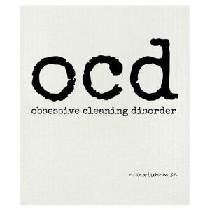 Disktrasa med rolig text - Disktrasepoesi, OCD
