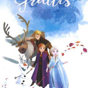 Disney Frozen Gratulationskort