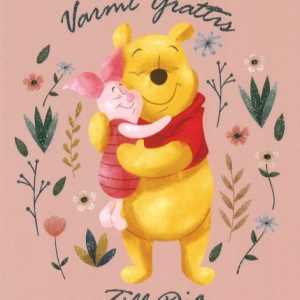 Disney Nalle Puh Gratulationskort