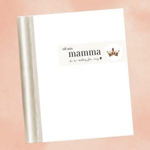 Fyll-i-bok - Till min mamma, Vit