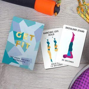 Get Fit - 100 träningskort, Multi