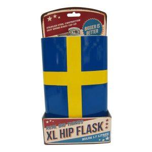 Gigantisk Plunta Svenska Flaggan