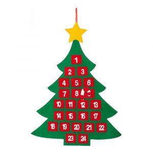Hängande Julgran Adventskalender