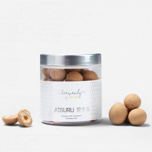 Hasselnötskulor, Karamell & Hamalayasalt - AISURU, 150 g