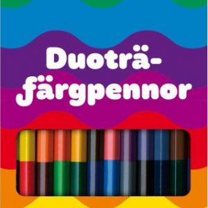 Kärnan Duofärgpennor 12-pack