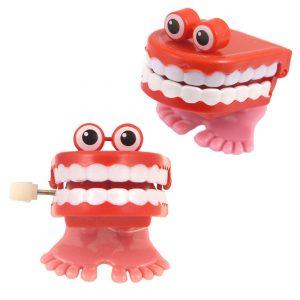 Klapprande Tänder Uppdragbar Leksak