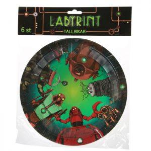 Labyrint Tallrikar 6-pack