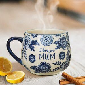 Mugg - I love you mum, Blå