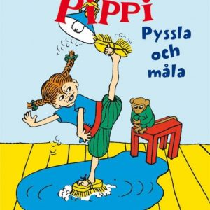 Pippi Långstrump Minipyssel pyssla och måla