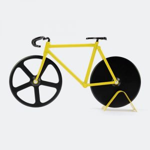 Pizzaskärare - Cykel, Gul