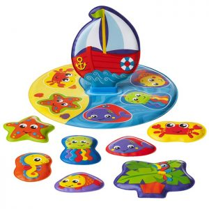 Playgro - Bad Pussel Floaty Boat