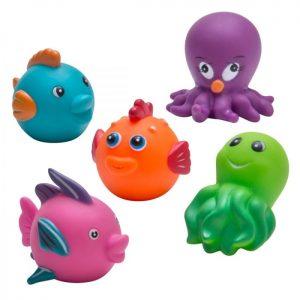 Rätt Start Badleksaker Sjödjur 5-pack