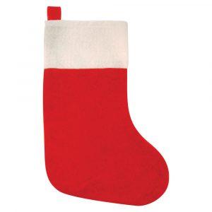 Röd Julstrumpa