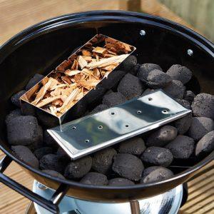 Röklåda till grillen - BBQ Smoker, Rostfritt Stål