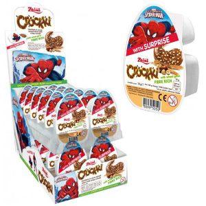 Spiderman Chokladpålägg med Överraskning