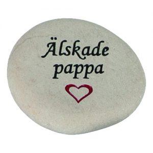 Sten Älskade Pappa - 1-pack