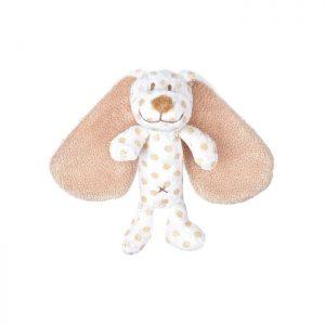 Teddykompaniet Big Ears Skallra Hund (Brun)