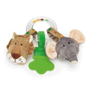 Teddykompaniet Diinglisar Ringskallra Lejon och Elefant