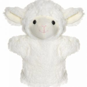 Teddykompaniet Handdocka Lamm