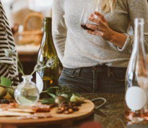 Vin- och ostprovning i hemmet